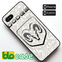 Dodge Logo Iphone 5S Plastic Case