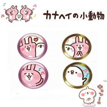 Phone sticker Cute home button stickers fingerprint identification Touch Key pasterfor iPhone 4s SE 5S 7 6s for iPad 2 3 animial