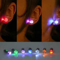 Light Up Led Earrings Studs Dance Party Accessories