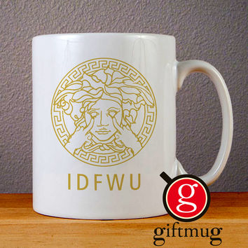 Big Sean IDFWU Medusa Logo Ceramic Coffee Mugs