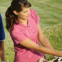 Adidas Ladies' ClimaLite Stretch Interlock Polo