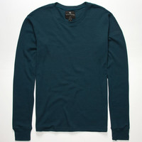 Shouthouse Solid Mens Thermal Emerald  In Sizes