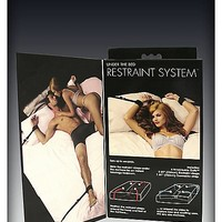 Pleasure Bound Under The Bed Restraint Kit - Spencer's