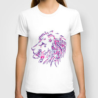 Aztec Lion T-shirt by Ashleigh | Society6