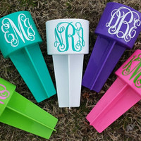 Personalized Spiker Beach Holder   Can, Drink, Phone, Key Holder.  Great for Vacations, Graduation Gifts, Birthdays, Greeks, and Much More.