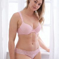 Bridget Demi Coverage Pushup Bra, Cherry Blossom