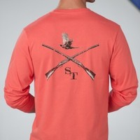Cross Guns | Long Sleeve TShirt | Southern Tide