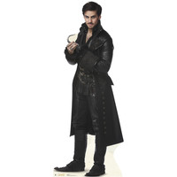 ONCE UPON A TIME CAPTAIN HOOK LIFESIZE CARDBOARD STANDUP STANDEE CUTOUT POSTER