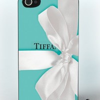 Apple Iphone 4/4s Hard Case Tiffany Box Design