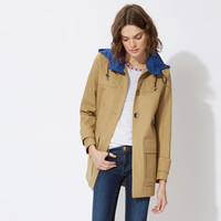 GOUACHELightweight cotton canvas parka