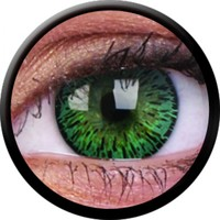 ColourVue Green Coloured Contacts