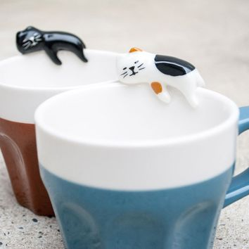 Concombre Sleeping Cat Mug