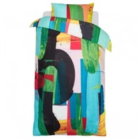 Irrbloss duvet cover and pillow case