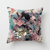 The Great Forage Throw Pillow by Mat Miller | Society6