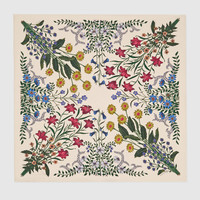 Gucci New Flora print silk carre