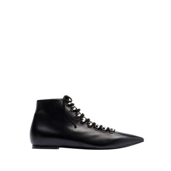 Balenciaga Classic Ankle Booties Black - Women's Arena Shoes