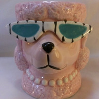 Pink Poodle with Sun Glasses Mug (693)