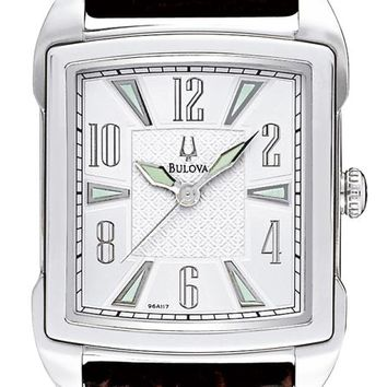Bulova 96A117 Men's Adventurer Vintage Silver Dial Watch