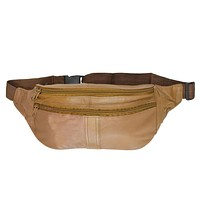 Waist Pouch Leather Traveling Bag