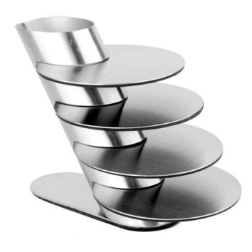 Stainless Steel Coffee Cup Pot Bowls Round Heat Mat