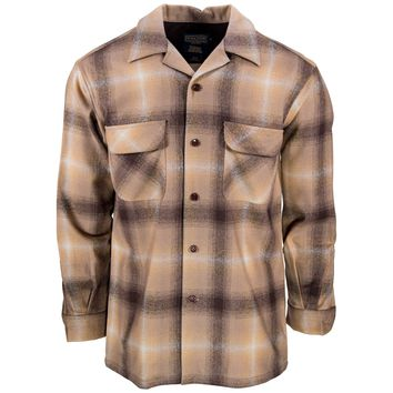 Board Shirt Brown Tan Ombre