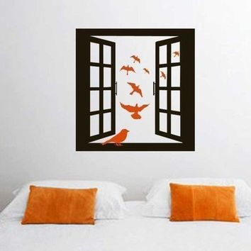 ShaNickers Wall Decal/StickerOpen Window w/ by shanon1972 on Etsy