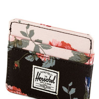 Herschel Supply Co. Travel Funds and Roses Wallet
