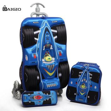 Lightweight Kids Travel Luggage Set Durable Rolling Luggage