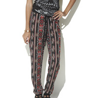 Aztec Hacci Soft Pant  | Shop Just Arrived at Wet Seal