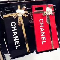Chanel tide brand iphone7plus mobile phone shell all-inclusive matte iphoneX F-OF-SJK