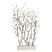 White Branch Tree In Pot | Potted Plants & Trees | Botanicals & Plants | Accessories | Decor | Z Gallerie