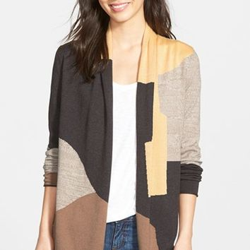 Women's NIC+ZOE 'Parker' Colorblock Cardigan,