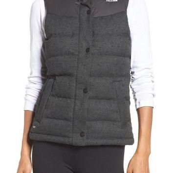 The North Face 'Nuptse Tweed' Water Resistant Down Vest (Nordstrom Exclusive) | Nordst