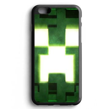 Custom Case Green Minecraft Creepers for iPhone Case & Samsung Case