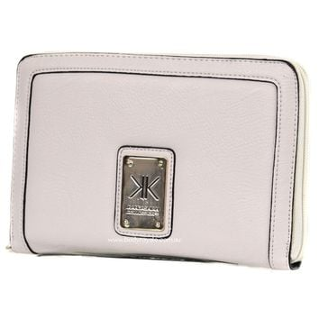 Kardashian kollection KK Oversized Travel Wallet Beige | Buy Online in Australia
