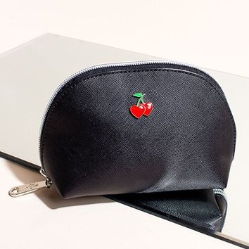 Sweet Cherry Cosmetic Bag