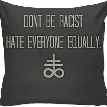 Satanism Couch Pillow