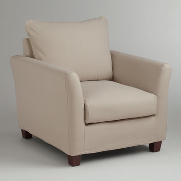 Stone Luxe Chair Slipcover - World Market