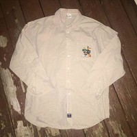 Vintage Looney Tunes Button up Size Large sold by Deadstock Dynasty