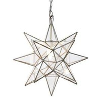 Clear Star Chandelier