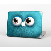 The Teal Fuzzy Wuzzy Skin Set for the Apple MacBook Pro 13""