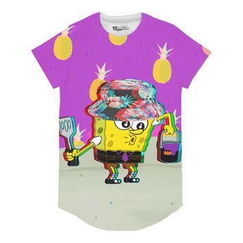 Trippy Square Pants Long Tee