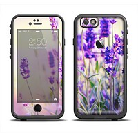 The Lavender Flower Bed Apple iPhone 6 LifeProof Fre Case Skin Set