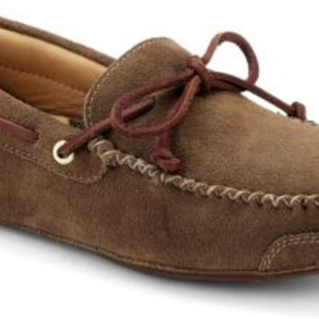 Sperry Top-Sider Gold Cup 1-Eye Slipper Tan, Size 10M  Men's Shoes
