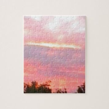 Summer Pink Jigsaw Puzzle