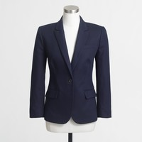 Cotton suiting blazer : FactoryWomen Blazers | Factory