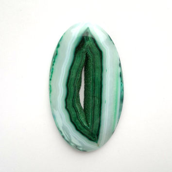 Large Oval Green Druzy Cabochon 65mm Oval Shape Drusy Drusee Natural Stone Cab Jewelry Design Wire Wrapping Jewelry Supply Stone Mineral