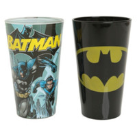 DC Comics Batman Pint Glasses Set