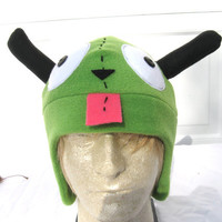 Gir hat  Invader Zim Winter Accessory  Millinery accessory for all ages. Gir hat  Invader Zim     Aw it likes me