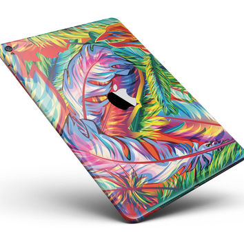 "Vibrant Colorful Feathers Full Body Skin for the iPad Pro (12.9"" or 9.7"" available)"
